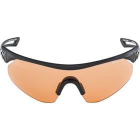 Alpina Nylos Shield VL Okulary rowerowe, black matt
